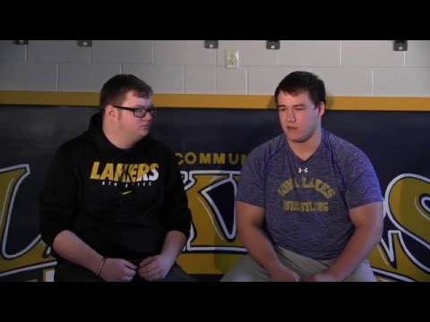 Post Season Wrestling Interviews | Iowa Lakes Community College