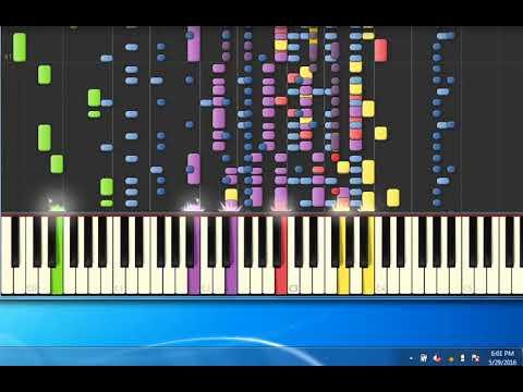 [Piano Tutorial Synthesia]Fuori Orario - Banda Bard•