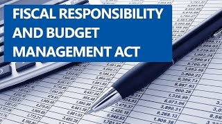 [Hindi] Fiscal Responsibility and Budget management Act