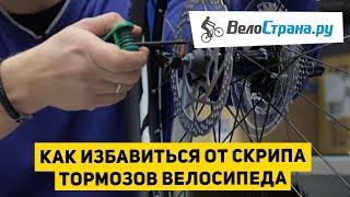 Как избавиться от скрипа тормозов велосипеда