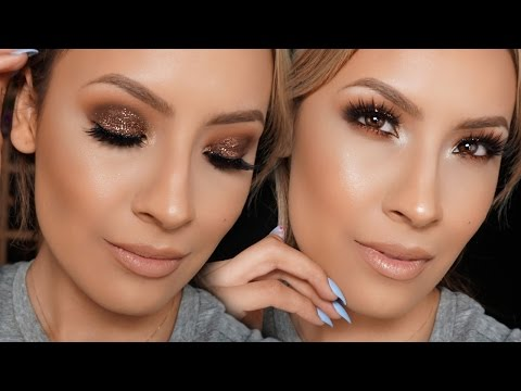 Glitter Eye Makeup Look – Desi Perkins