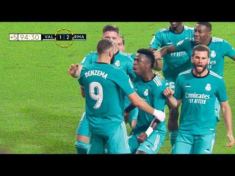 Real Madrid CRAZY LAST Minute Goals