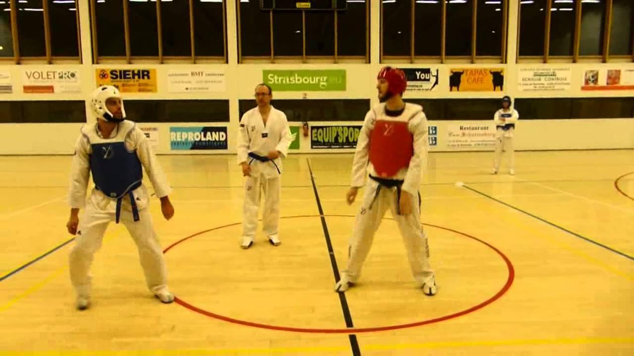 Section Combat Asptt Strasbourg Taekwondo Phoenix