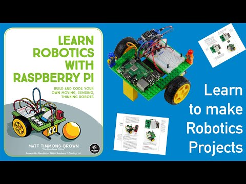 Learn Robotics with Raspberry Pi | No Starch Press
