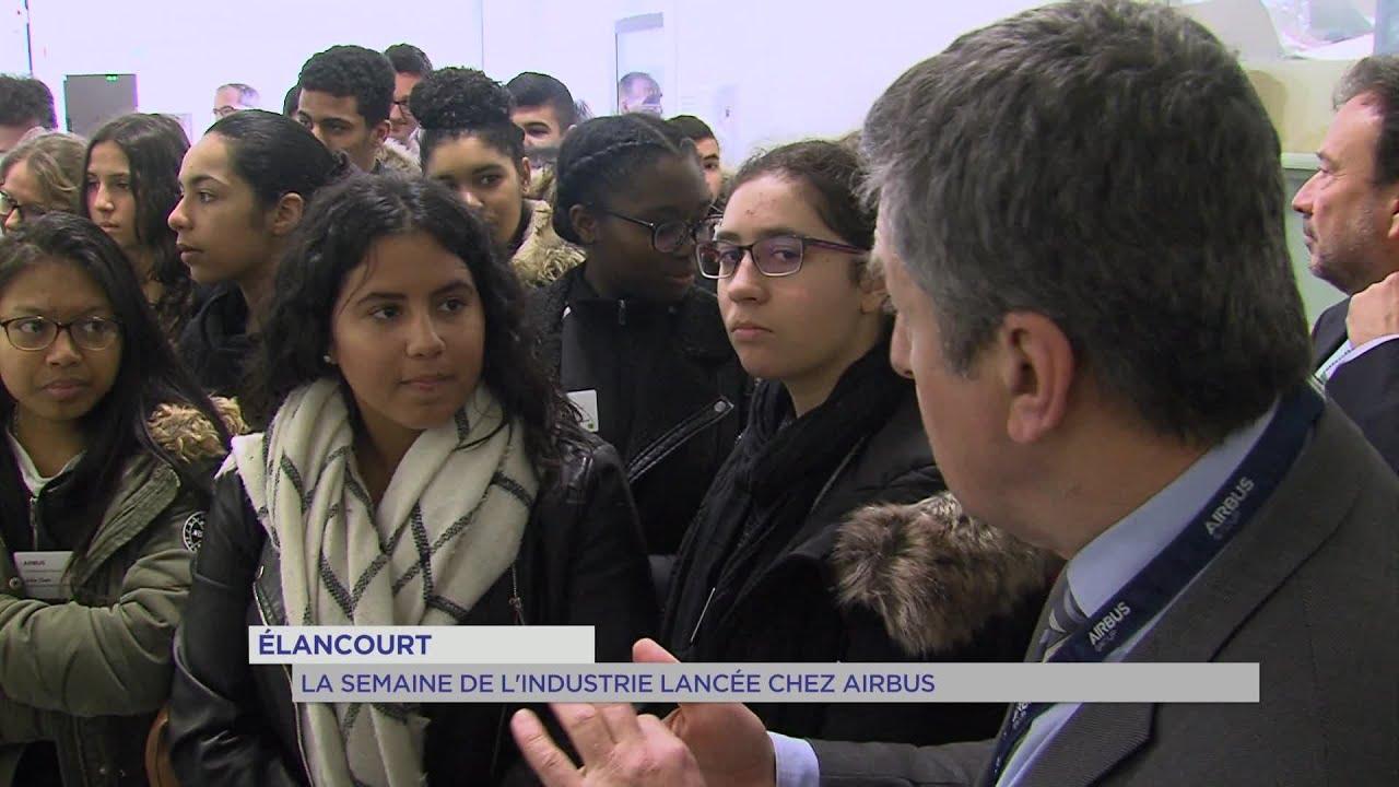 Yvelines | La semaine de l'industrie lancée chez Airbus à Élancourt