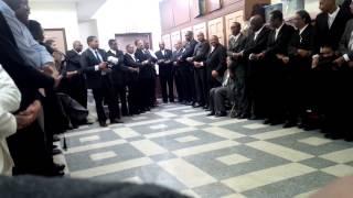 Seventh Day Adventist Church Holy Communion At Christian Fellowship Sda (men)