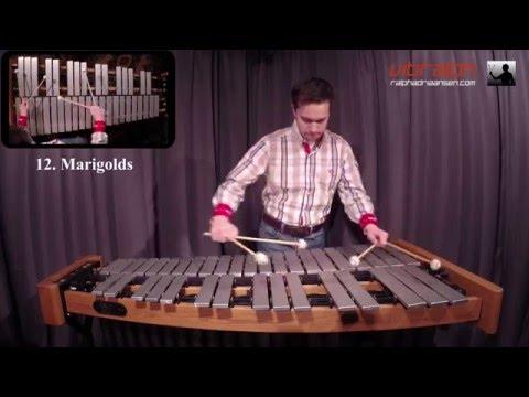 Vibralph - 12. Marigolds / Solo Jazz Vibraphone Etudes by Arthur Lipner