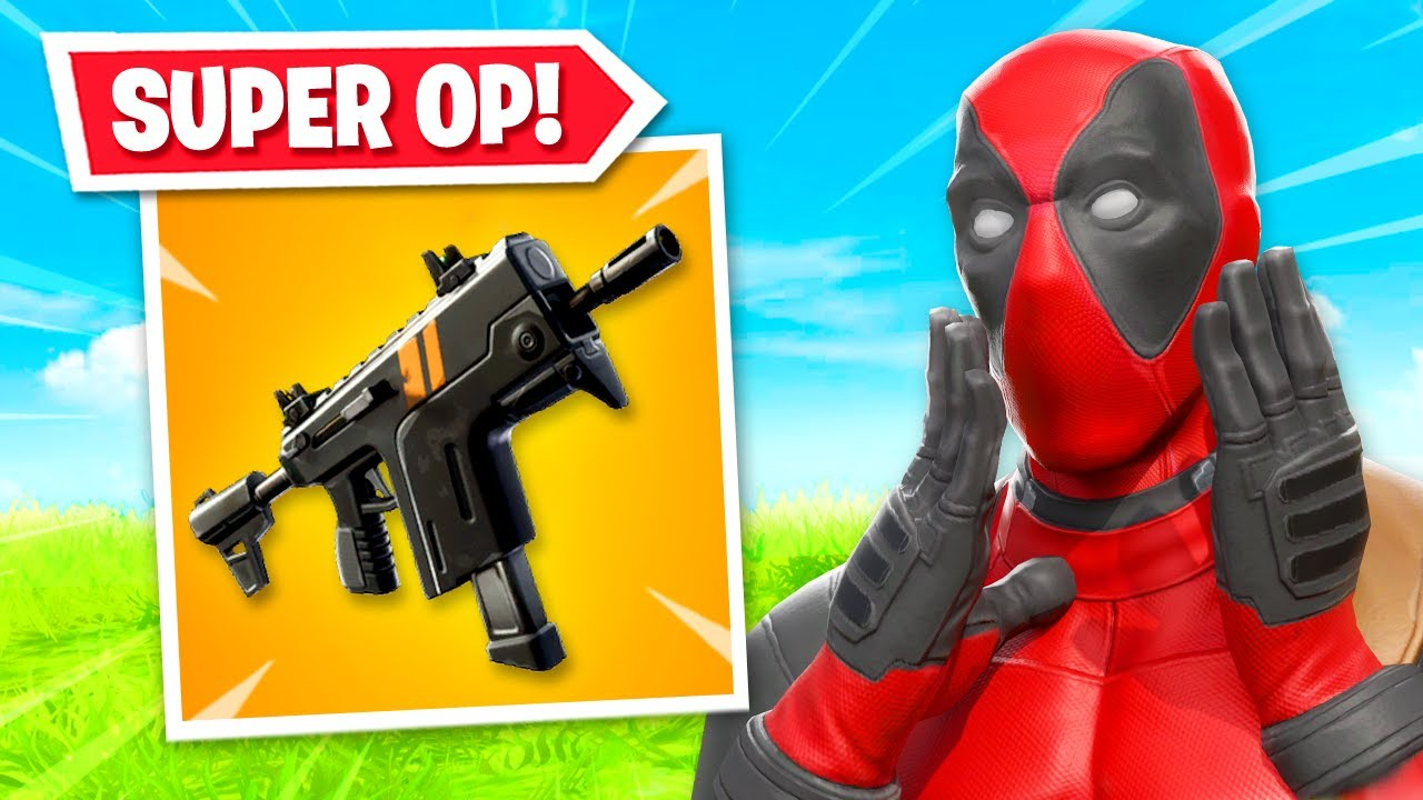 *NEW* RAPID FIRE SMG is OP in Fortnite! (HOW TO GET IT) thumbnail
