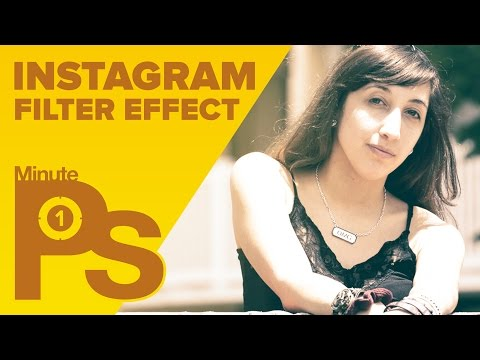 How to Create an Instagram Filter in Photoshop in 1 Minute #MinutePhotoshop