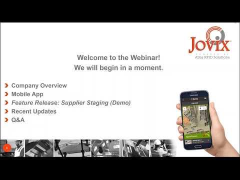 Jovix 2017.9 Release Webinar