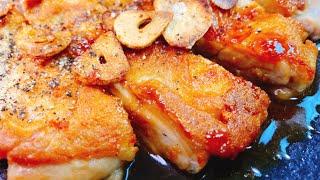 チキンステーキ|こっタソの自由気ままに【Kottaso Recipe】さんのレシピ書き起こし