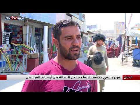 العراق.. تقرير رسمي يكشف ارتفاع معدل البطالة بين أوساط العراقيين