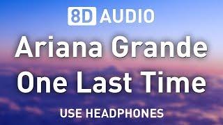 Baixar Ariana Grande - One Last Time | 8D AUDIO 🎧