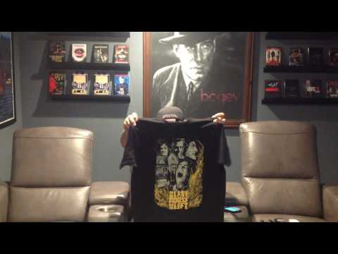 Pallbearer Press T-Shirt Unboxing for The Canadian Cult & Horror Collector Community CCHCC Facebook