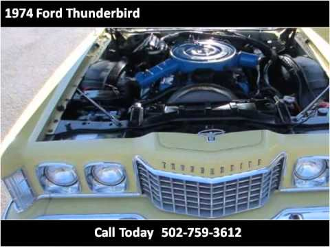 1974 Ford Thunderbird Used Cars Louisville KY