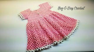 CROCHET DRESS For EverRose My Princess CROCHET Toddler Baby Girl Dress #CROCHET TUTORIAL #409 DYI
