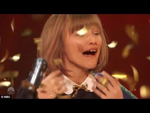 Cette Fille De 12 Ans Va Vous Emouvoir: Golden Buzzer Ukele American Got Talent
