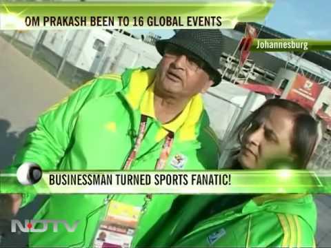 Businessman turned sports fanatic