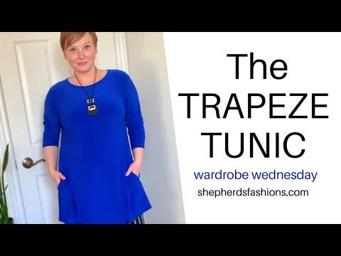 Shepherd's Wardrobe Wednesday - The TRAPEZE Tunic (April 22, 2020)