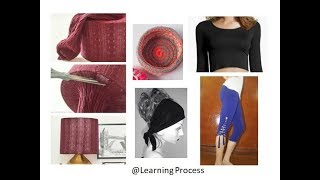 12 smart ways to reuse or recycle old leggings | Learning Process