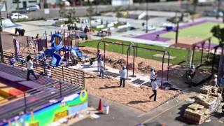 Sega, Kaboom!, And Youth Uprising Playground Build