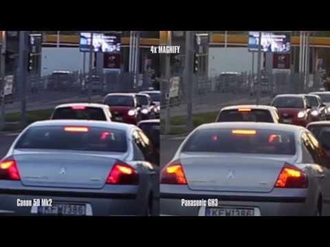 Canon EOS 5D Mark II vs. Panasonic DMC-GH3 | Video Test