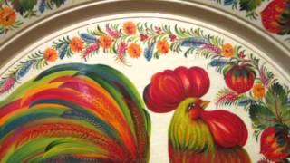Петриковская роспись. Выставка в Софии Киевской. Смирнова Нина(Это видео создано в редакторе слайд-шоу YouTube: http://www.youtube.com/upload., 2016-04-05T22:07:40.000Z)