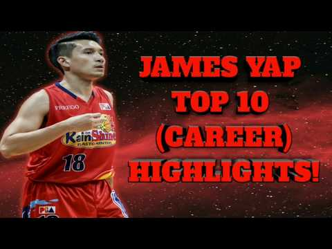 James Yap Top 10 HIGHLIGHTS OF ALL TIME!