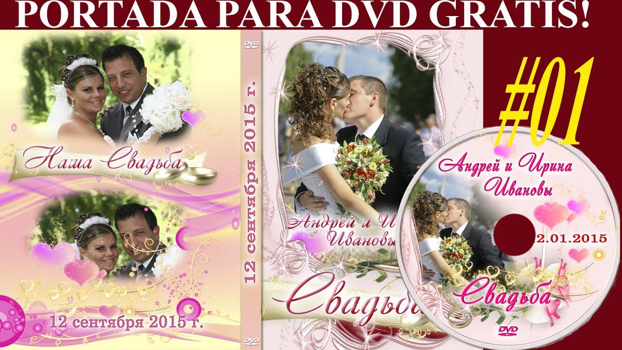 Plantillas psd para crear portada DVD - MATRIMONIO - plantillas para ...
