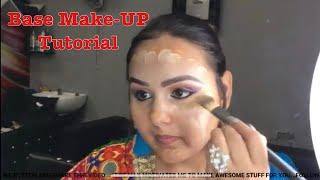 बेस मेकअप कैसे करें Step by Step Base Makeup for Beginners TUTORIAL IN HINDI