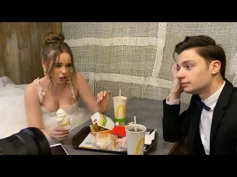 """моя свадьба! как снимали клип """"ничем"""""""