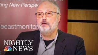 President Donald Trump Weighs In On Saudi Cover Up Of Jamal Khashoggi Murder   NBC Nightly News