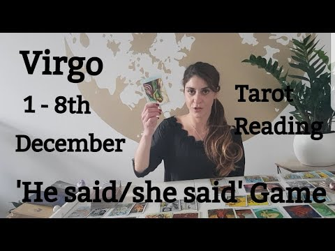 VIRGO - A ROLLERCOASTER RIDE WITH YOUR SOULMATE..FASTEN YOUR SEATBELTS! 1 - 8TH Dec. Tarot