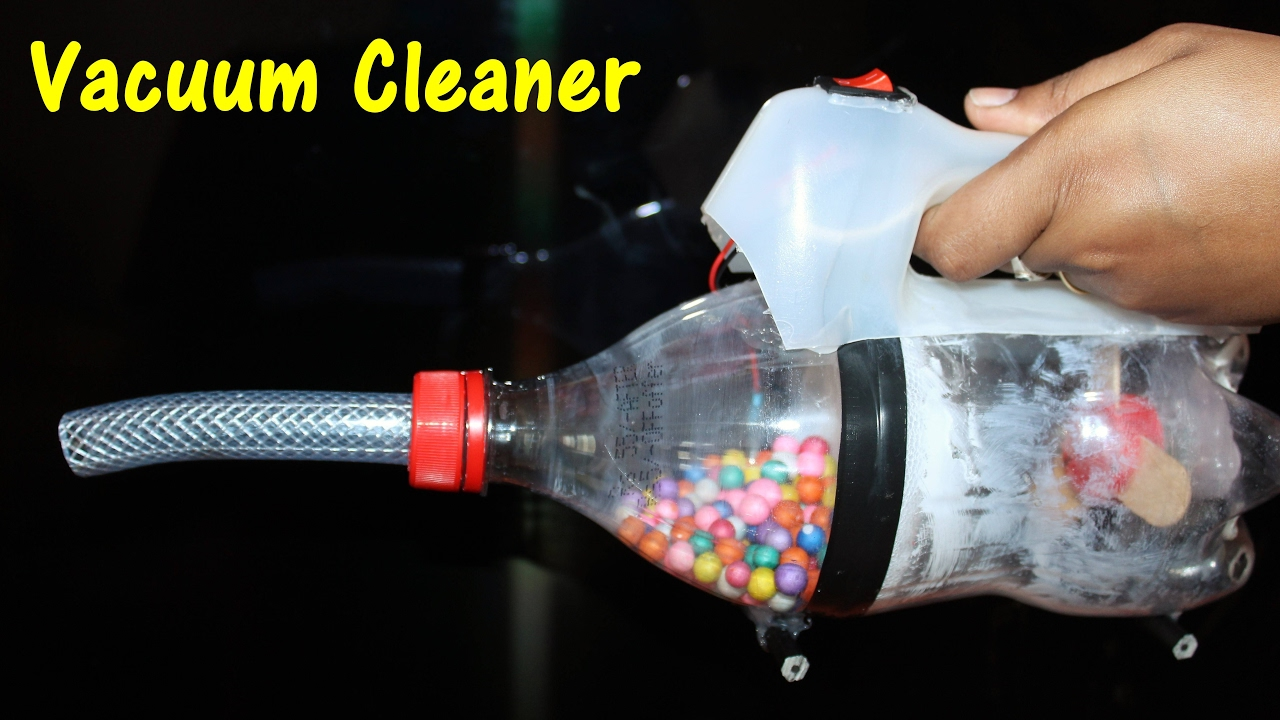 DIY Vacuum Cleaner in Simple steps - Best School Project