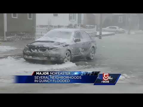 Several Quincy neighborhoods flooded Thursday