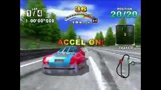 HDMI Dreamcast Daytona 60fps 50Mbps Test