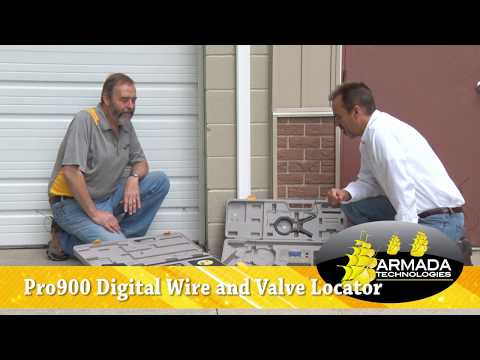 How to use 3 different locating methods with the Pro900 Digital Cable, Wire and Valve Locator
