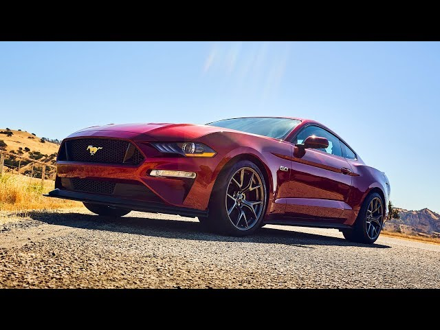 Best Driver's Car Contender:  2018 Ford Mustang Performance Pack 2