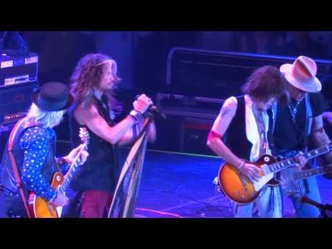 Aerosmith with Johnny Depp - Big Ten Inch Record - The Forum 7-30-14