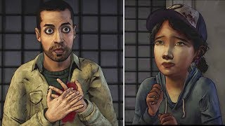 Omid Gets Killed While Saving Clementine -All Choices- The Walking Dead