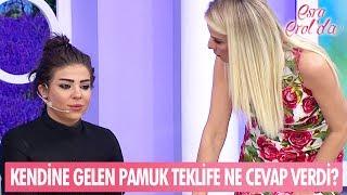 Kendine gelen Pamuk, Tarık'ın teklifine ne cevap verdi? - Esra Erol'da 26 Mayıs 2017