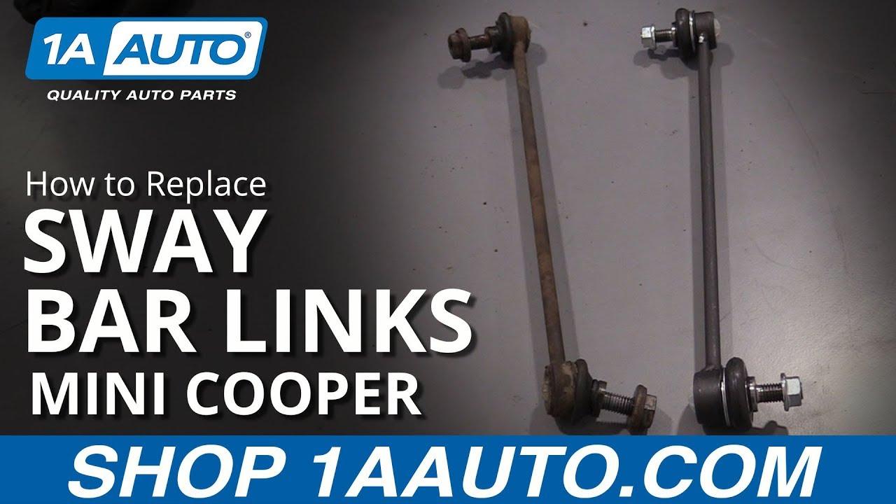 MINI COOPER ONE R50 R52 R53 R55 R56 FRONT STABILISER ANTI ROLL BAR DROP LINKS X2