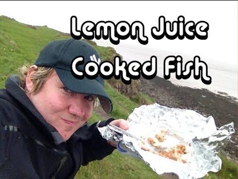 Lemon Juice Cooked Fish (basic Ceviche) - MYVIRGINKITCHEN