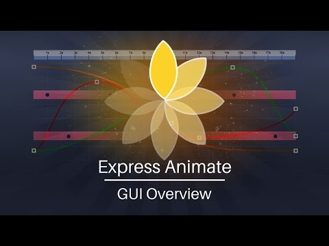 Express Animate Tutorial | GUI Overview