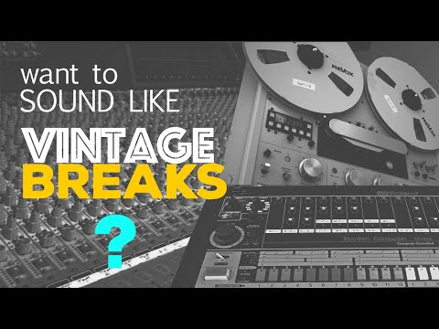 How to sound like vintage recordings from the past ?