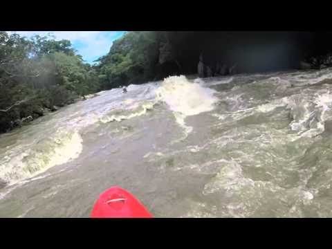 White Water Kayaking In Colombia Class 2 Rapids