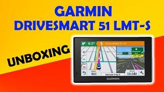 garmin Drivesmart 51 LMT-S EU Unboxing HD (010-01680-17)