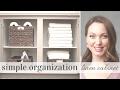 Simple Organization | Linen Cabinet
