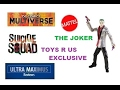 The Joker Suicide Squad DC Comics Multiverse Toys R Us Exclusive