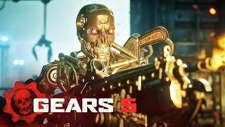 Gears 5 - Official Terminator Dark Fate Character Pack Trailer